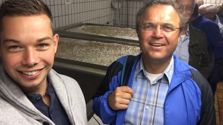 Tag 7 Besichtigung der Brauerei Stelzer in Fattigau mit Alexander Zink