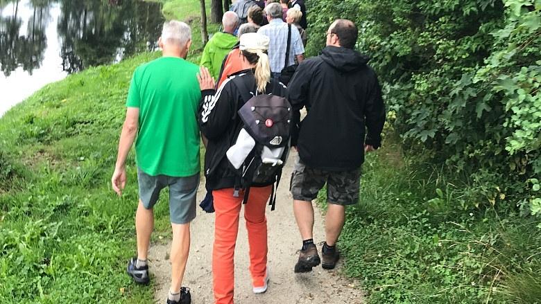 Tag 9 Wanderung von Nagel nach Reichenbach nach Fahrenbach und Tröstau