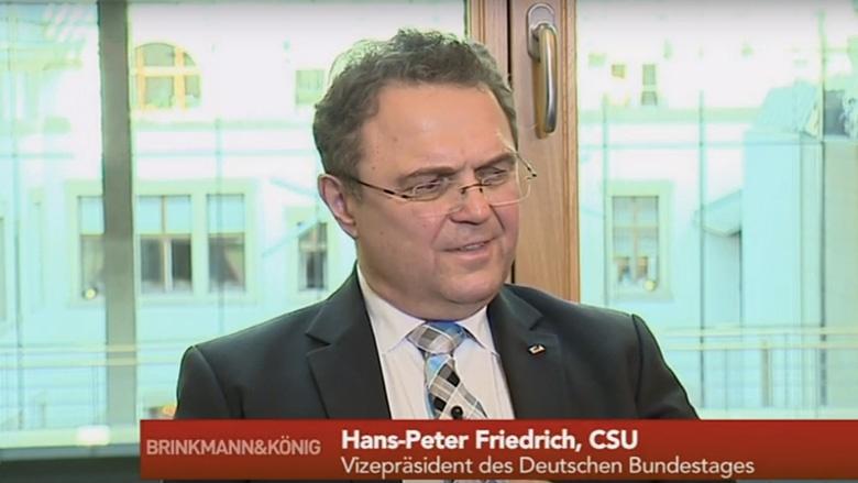 Dr. Hans-Peter Friedrich im Interview mit Brinkmann & König