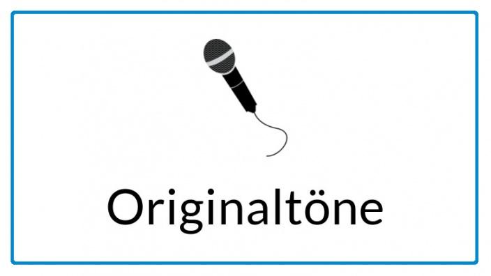 Icon für Originaltöne
