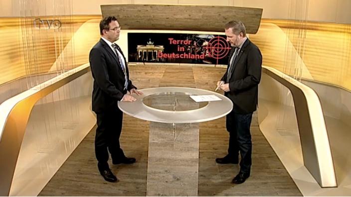 Ausschnitt aus der Sendung