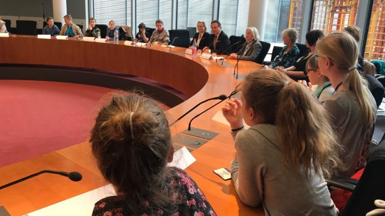 Girls and Boys Day 2018 im Deutschen Bundestag