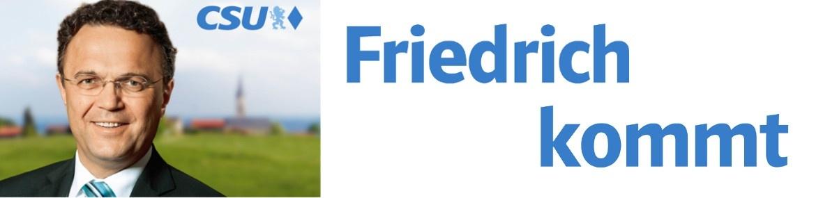 Friedrich kommt! - Termine vor Ort