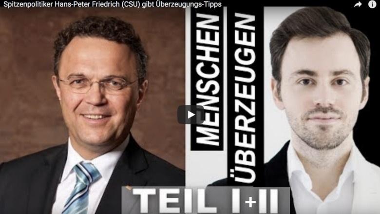 Interview mit Hans-Peter Friedrich und Wlad Jachtchenko von 'Argumentorik'