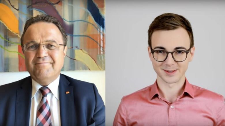 Hans-Peter Friedrich im Interview mit Daniel Reißmann von 'Die Nachhaker'