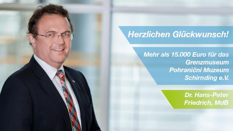 Dr. Hans-Peter Friedrich, MdB