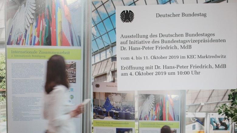 Der Bundestag zu Gast in Marktredwitz - Dr. Hans-Peter Friedrich lädt ein