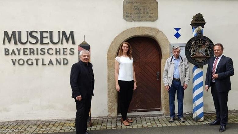 Impressionen aus dem Wahlkreis, Museeum Bayerisches Vogtland