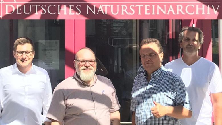 Impressionen aus dem Wahlkreis, Deutesches Natursteinarchiv in Wunsiedel