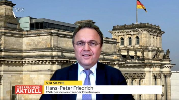Dr. Hans-Peter Friedrich im Interview mit TVO am 20.04.2021