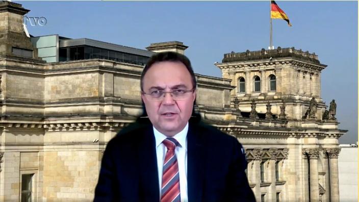 Dr. Hans-Peter Friedrich im Interview mit TV Oberfranken