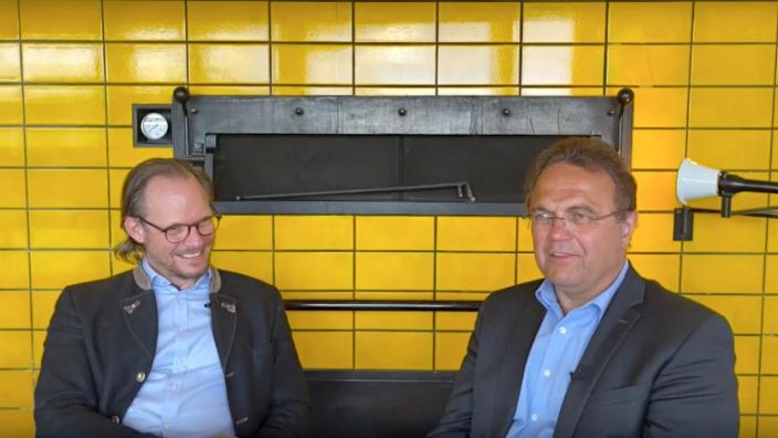 Dr. Hans-Peter Friedrich im Gespräch mit Alexander Fickenscher
