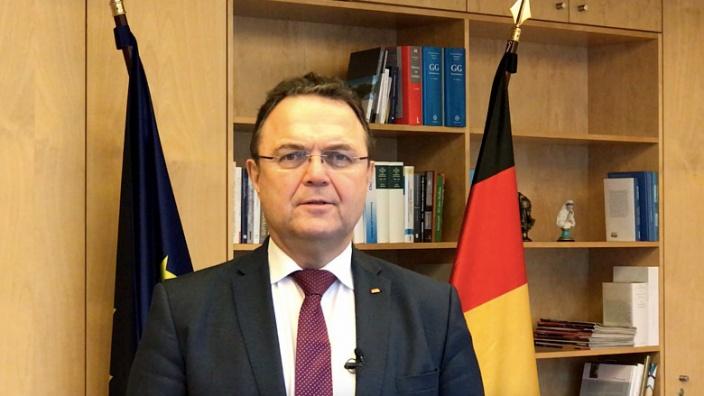 Hans-Peter Friedrich zum Thema Bundeshaushalt 2020