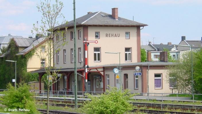 Bahnhof der Stadt Rehau © Stadt Rehau