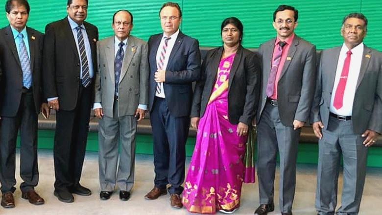 Empfang einer Parlamentarierdelegation aus Sri Lanka