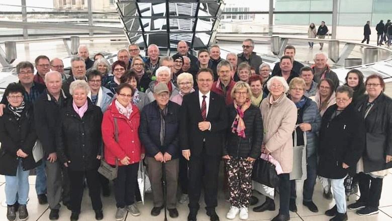 Zwei Besuchergruppen aus meinem Wahlkreis, vielen Dank für den Besuch!