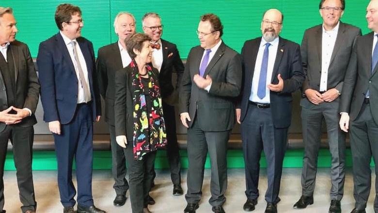 Empfang einer Parlamentarierdelegation der Schweizerischen Eidgenossenschaft