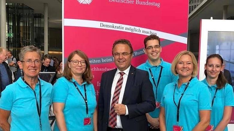 """Impressionen vom """"Tag der Ein- und Ausblicke"""" im Bundestag am 08.09.2019"""