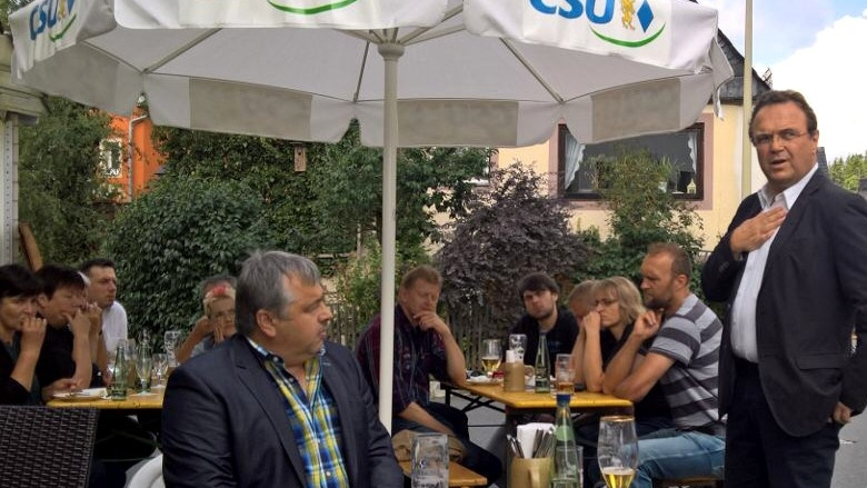 Tag 10 Politischer Frühschoppen in Selbitz
