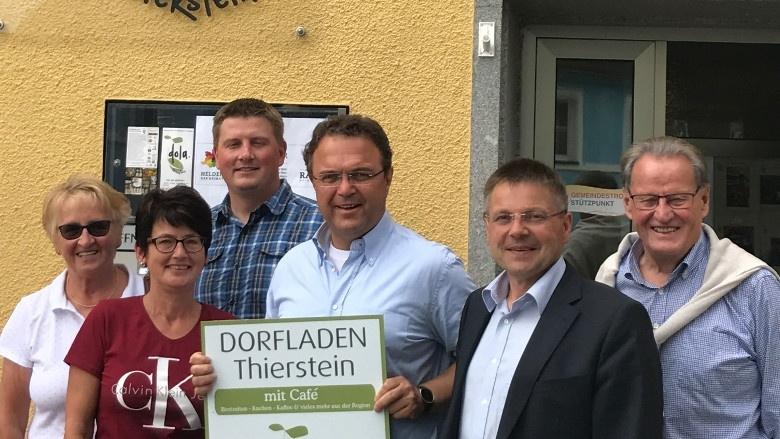 Tag 3 Besuch des Dorfladens in Thierstein