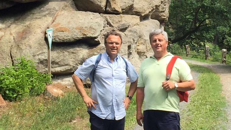 Tag 3 Wanderung von Thierstein über das Wellertal nach Neuhaus a. d. Eger