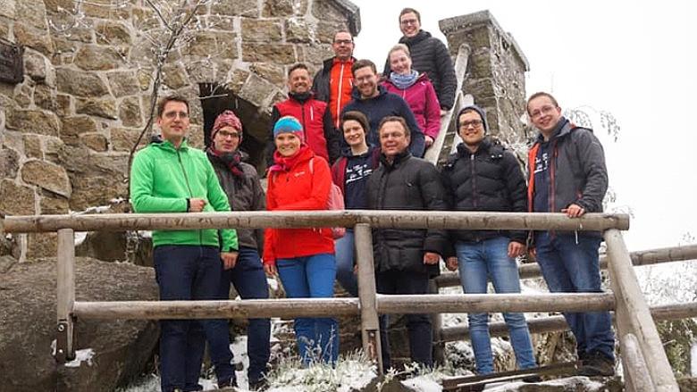 EuropaGipfeltreffen der JU Kreisverbände Wunsiedel und Tirschenreuth