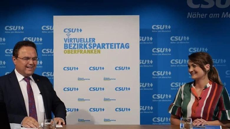 1. Virtueller Bezirksparteitag der CSU Oberfranken mit Staatsministerin  Judith Gerlach1. Virtueller Bezirksparteitag der CSU Oberfranken